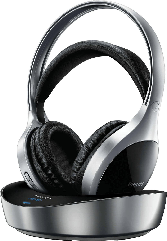 Philips SHD8700/0 kabelloser digital Kopfhörer schwarz/silber