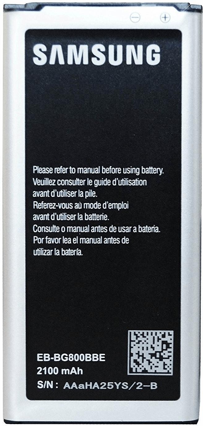 Image of Samsung Batteria Galaxy S5 Mini EB-BG800BBEGWW