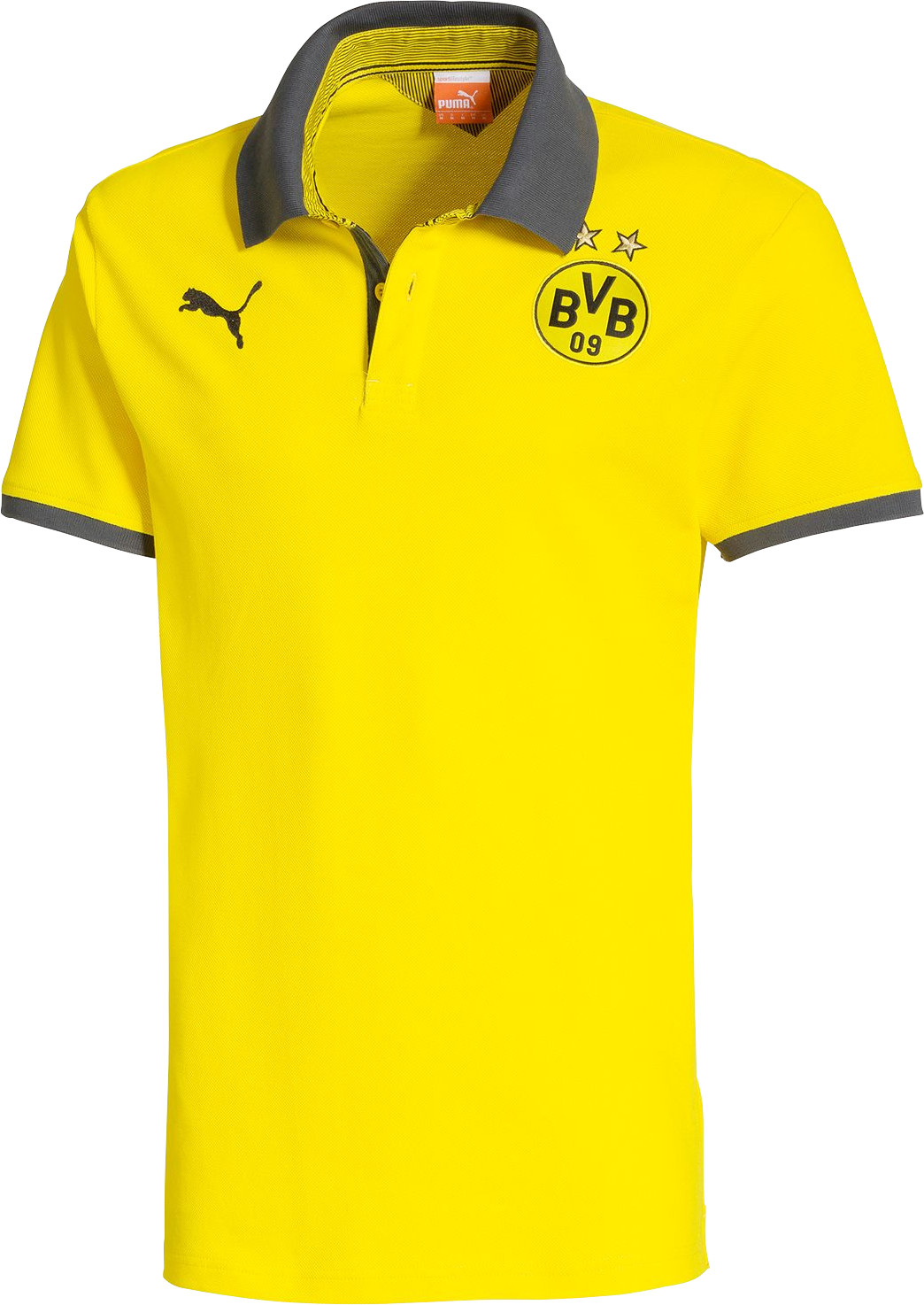 Puma BVB T7 Polo 2014/2015 cyber yellow