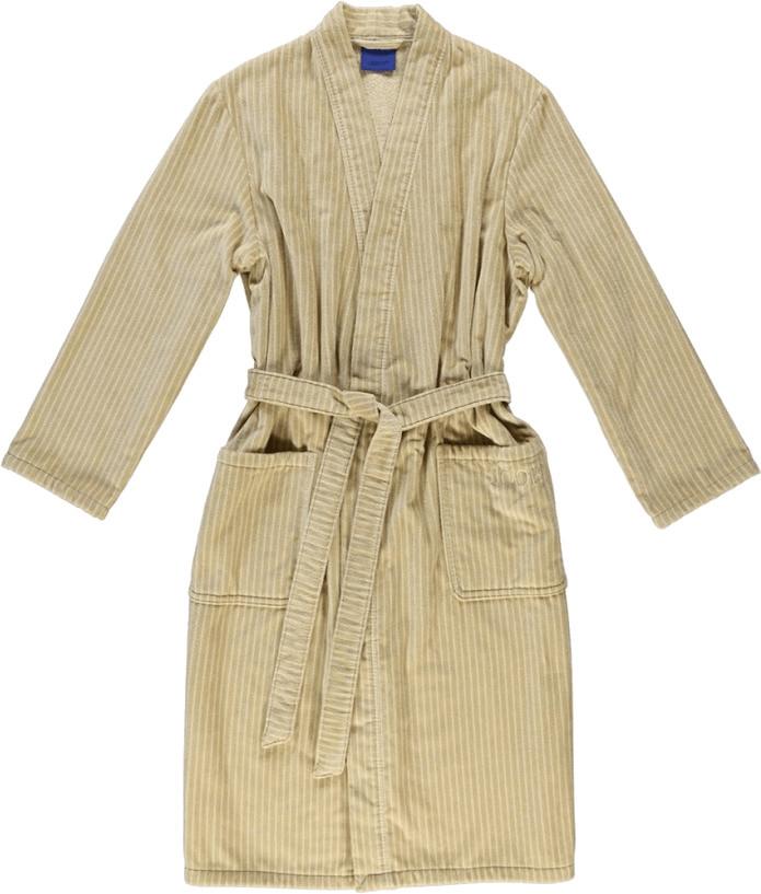 Joop! Herren Bademantel Kimono travertin