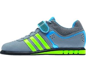 Buy Adidas Powerlift 2 grey neon green solar blue from £49.80 ... 4abd3eb68c