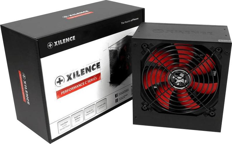 Xilence Performance C 500W schwarz/rot