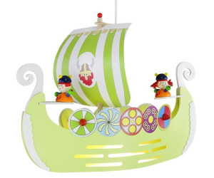 Elobra Wikingerschiff - grün (125700)