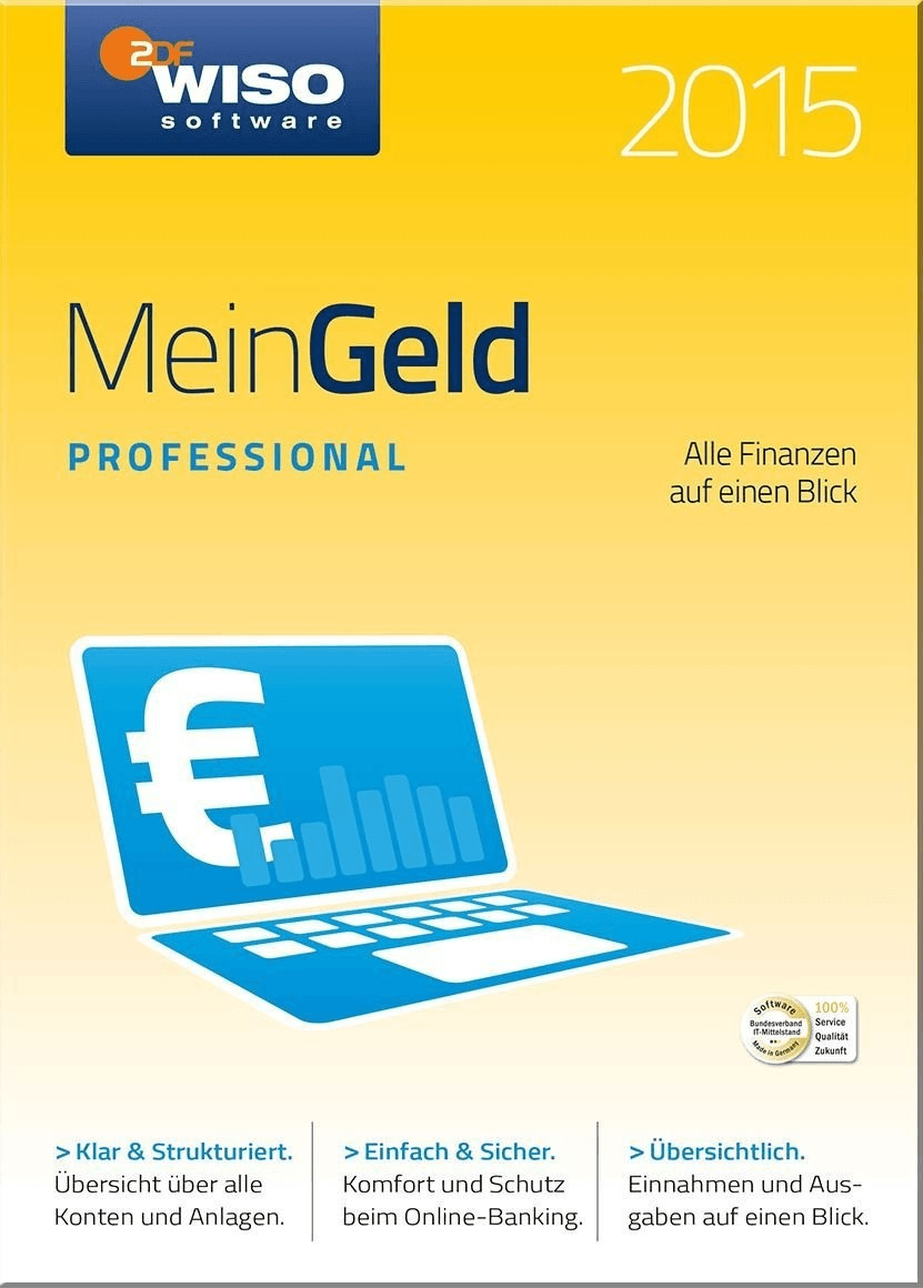 Buhl WISO Mein Geld 2015 Professional