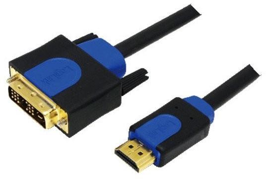 LogiLink 070120 HDMI zu DVI Kabel (1m)