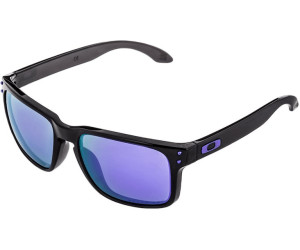 ee81fd975f Oakley Holbrook OO9102 OO9102-67 (black ink violet iridium polarized)