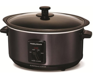 Morphy Richards Oval Slow Cooker 3.5L 48710 Polished Stainless Steel Slowcooker
