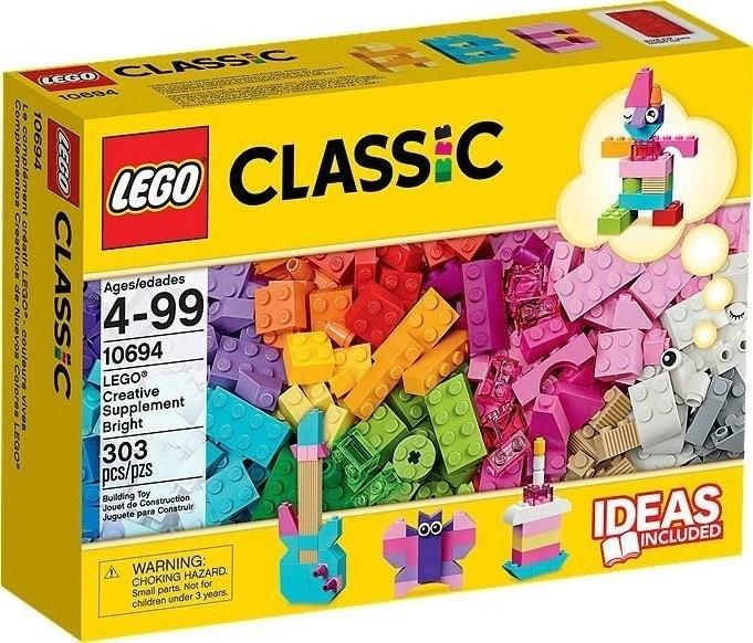 LEGO Classic - Le complément créatif couleurs vives (10694)