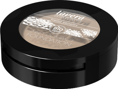 Lavera Trend Sensitiv 2in1 Compact Foundation - 01 Ivory (10 g)
