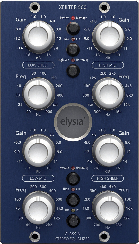 Image of Elysia Xfilter 500