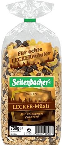 Seitenbacher Lecker Müsli #077 (750 g)