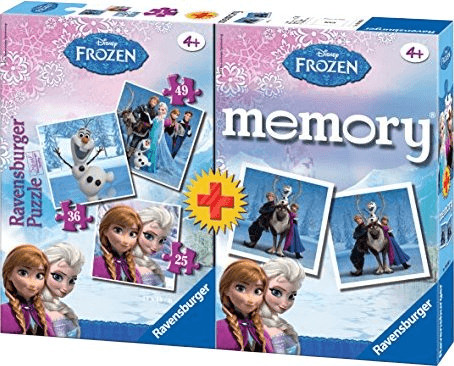 Ravensburger Disney Frozen 3 Puzzles + memory (22311)