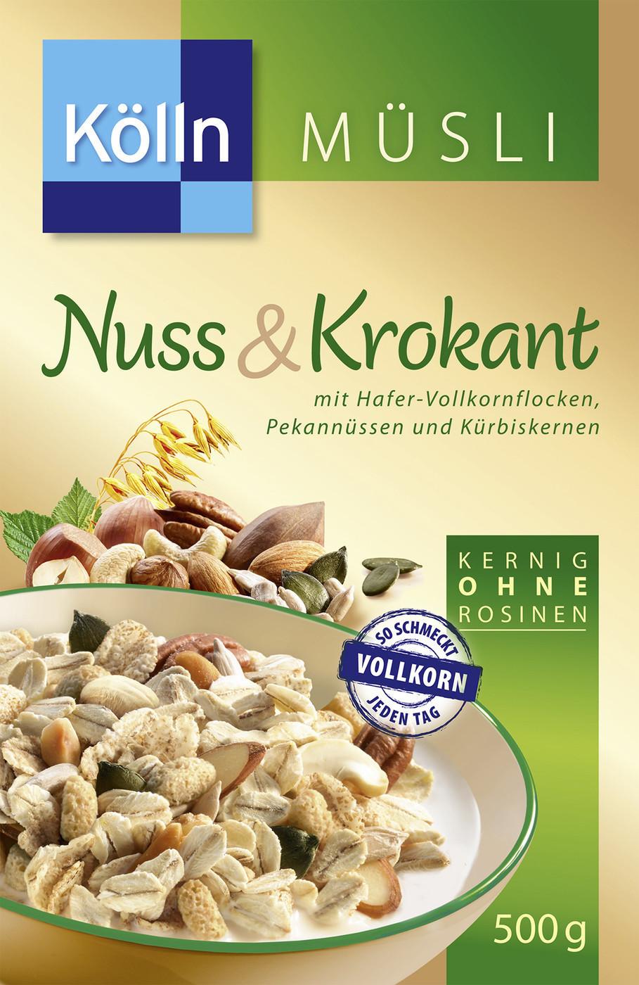 Kölln Müsli Nuss & Krokant (500 g)