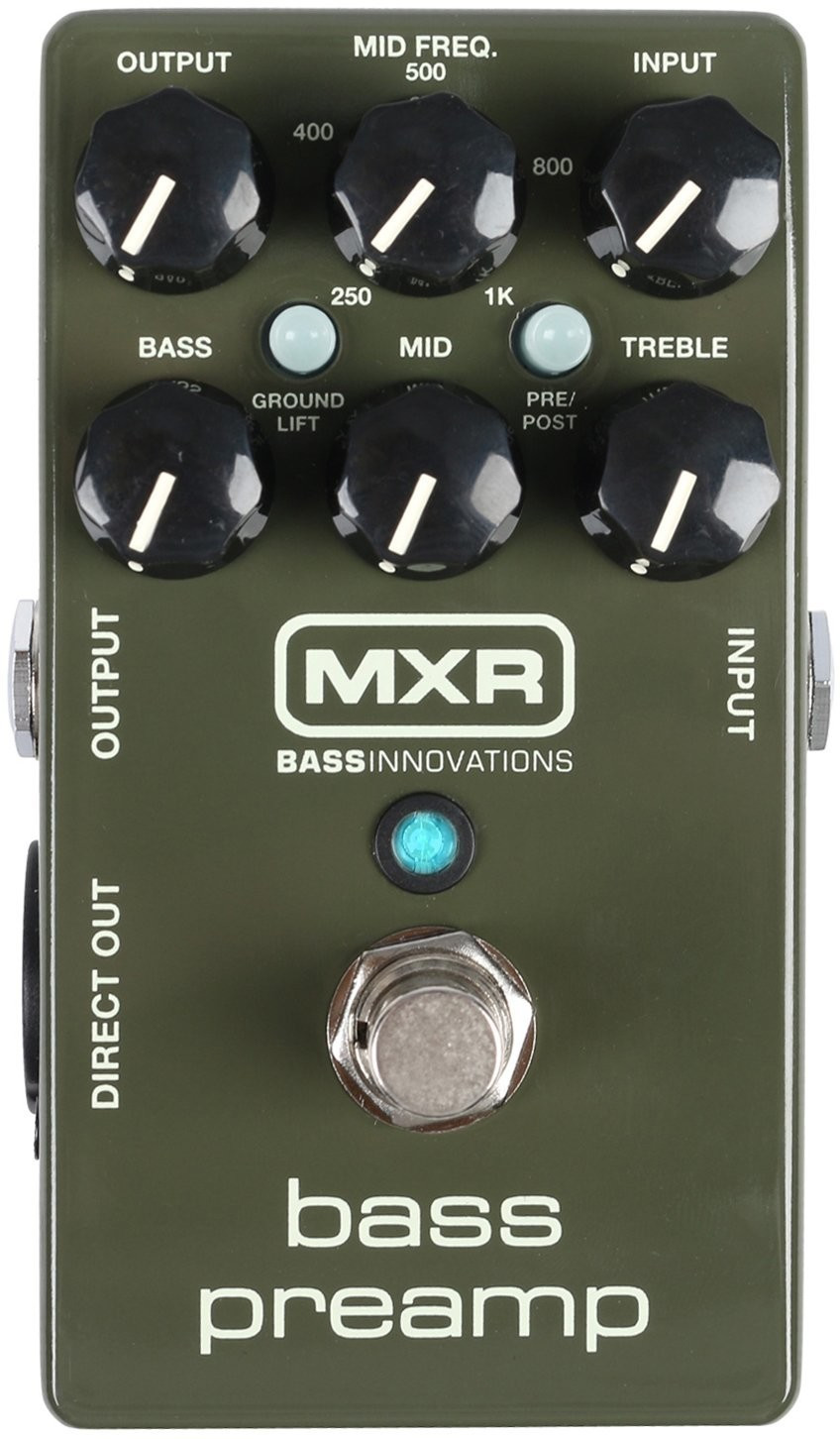 *Jim Dunlop MXR Bass Preamp M81*