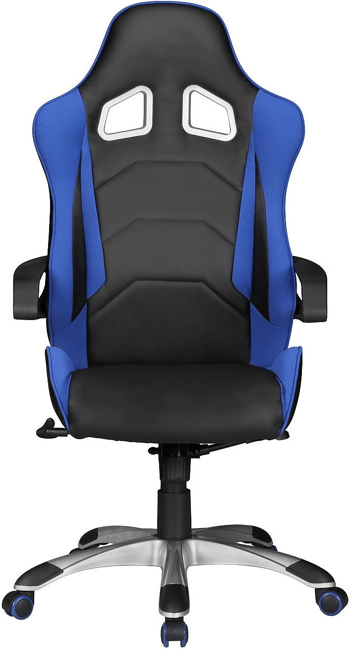 Amstyle Speed Chefsessel blau/schwarz