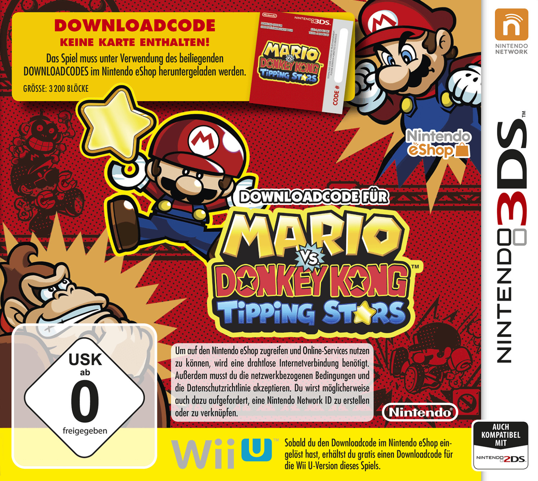 Mario vs. Donkey Kong: Tipping Stars (3DS)