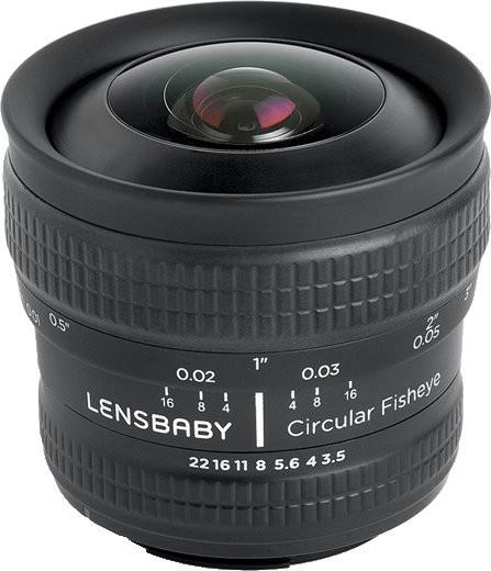 Image of Lensbaby Circular Fisheye 5.8mm f/3.5 Micro Four Thirds