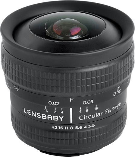 Image of Lensbaby Circular Fisheye 5.8mm f/3.5 Sony E