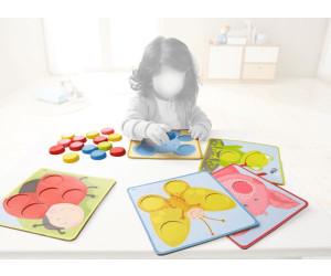 301059 Kinder Spiele HABA Zuordnungsspiel Kunterbunte Tierwelt Kinderspiele