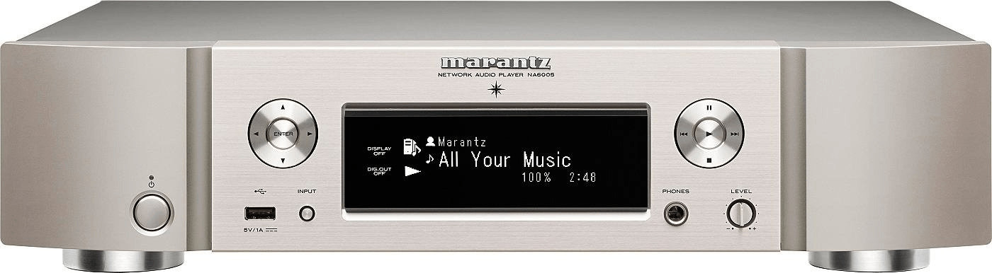 Marantz NA6005 Silber-gold