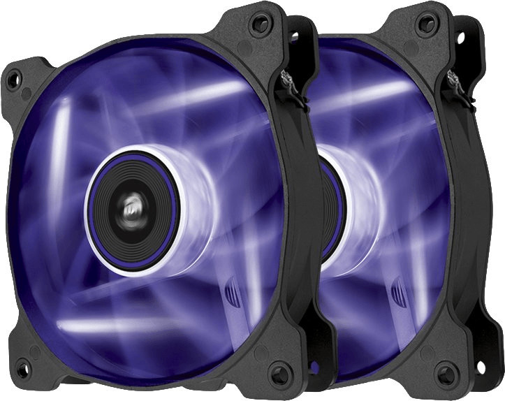 Corsair SP120 LED Purple Dual Pack - Ventilador 12 cm