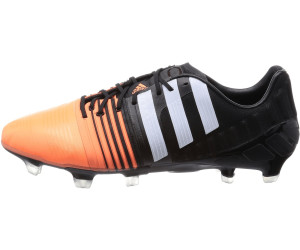 low priced b7d61 aae13 Adidas Nitrocharge 1.0 FG core black ftwr white flash orange