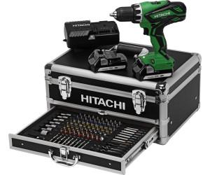 Hitachi DS18DJL Akkuschrauber 18 Volt 2 x 1,5 Ah Akku im Koffer