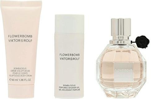 Viktor & Rolf Flowerbomb Set (EdP 50ml + BL 40ml + SG 50ml)