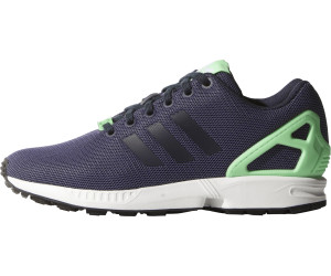 factory price 3c8c7 80cbd Adidas ZX Flux W collegiate navy light flash green