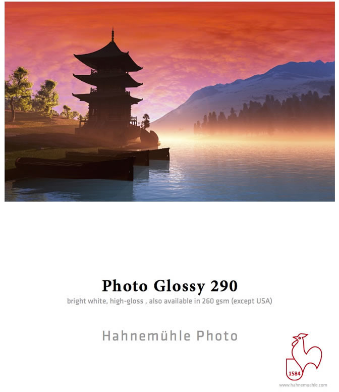 #Hahnemühle Photo Glossy (HAH10641920)#