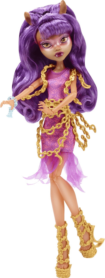 Monster High Haunted Getting Ghostly Clawdeen Wolf