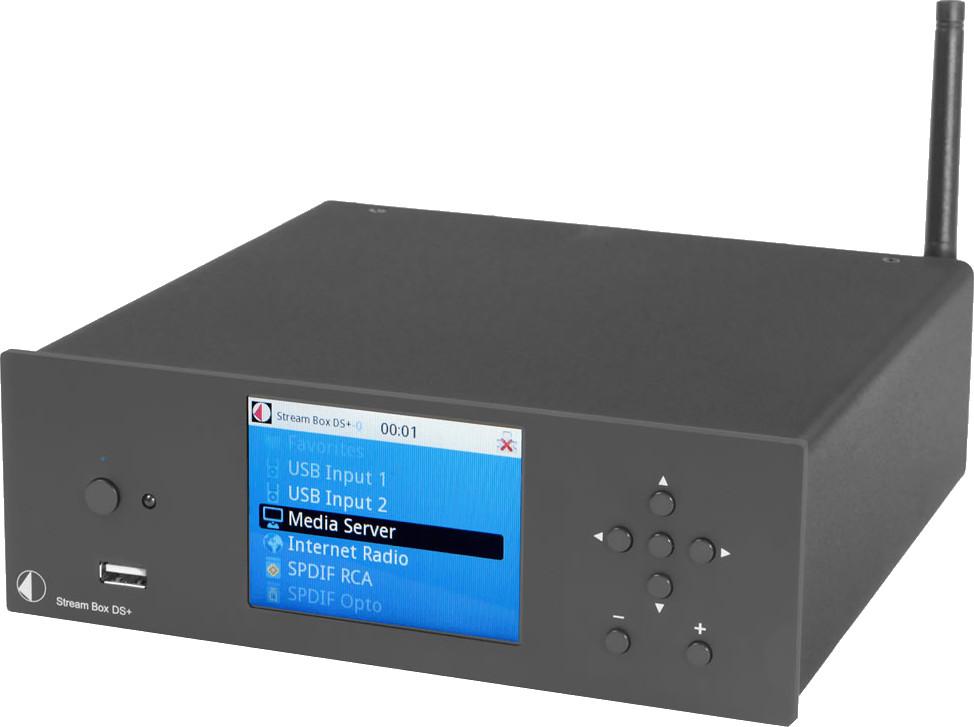 Pro-Ject Stream Box DS+ Schwarz