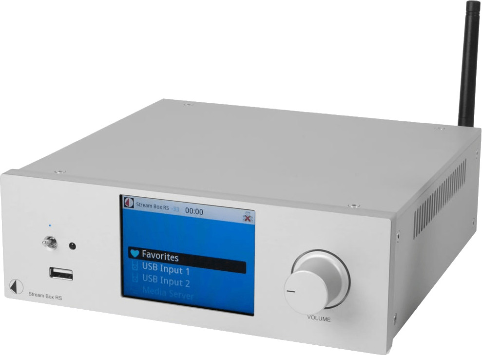 Pro-Ject Stream Box RS Silber