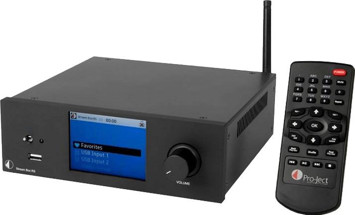 Pro-Ject Stream Box RS Schwarz