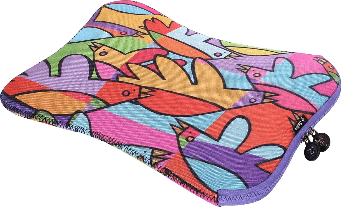 "Image of Bodino Notebook-Sleeve 13.3"" Cool Birds"