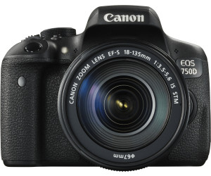 Canon EOS 750D Kit 18-135 mm IS STM