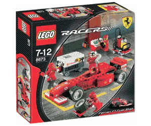 Lego Racers Ferrari F1 Tankstopp 8673 Ab 176 24 Preisvergleich Bei Idealo De