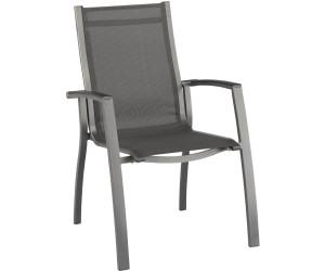 kettler altura stapelsessel anthrazit anthrazit 0302102 7100 ab 109 90 preisvergleich bei. Black Bedroom Furniture Sets. Home Design Ideas