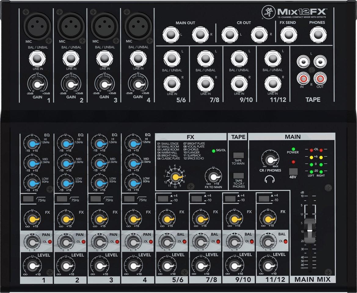 Image of Mackie Mix12FX