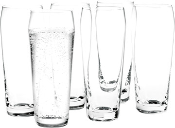 Holmegaard Wasserglas Perfection 33 cl 6er Set
