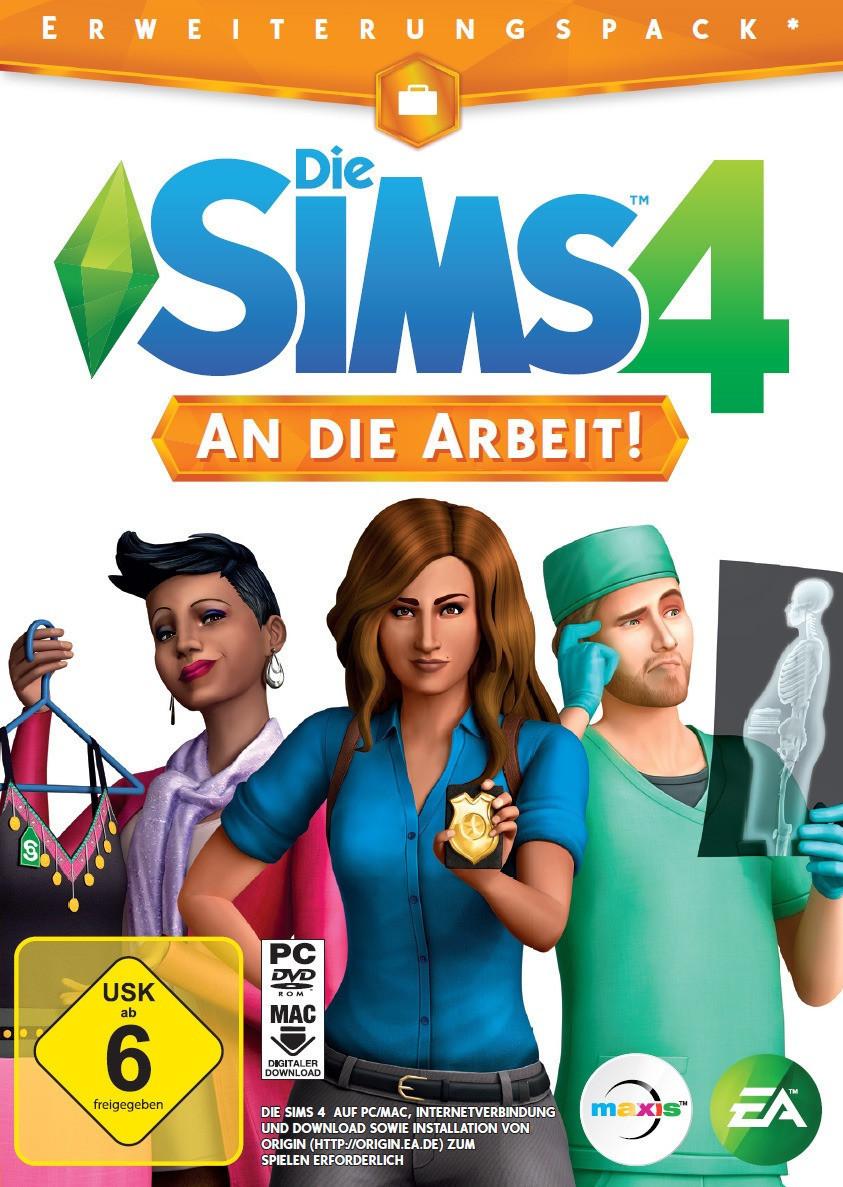 Die Sims 4: An die Arbeit (Erweiterungspack)   [PC] - MediaMarkt