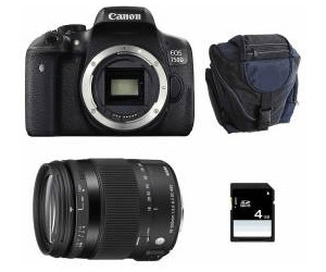 Canon EOS 750D Kit 18-200 mm Sigma