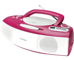 Grundig RRCD 1400 Pink/White