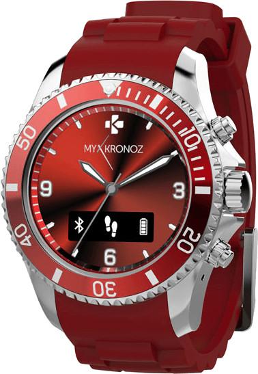 MyKronoz ZeClock rot