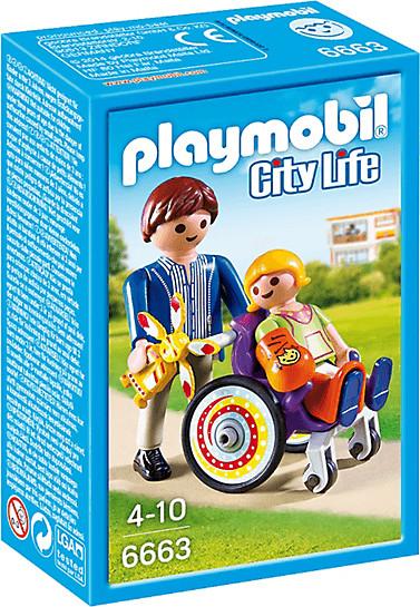 Playmobil City Life - Kind im Rollstuhl (6663)