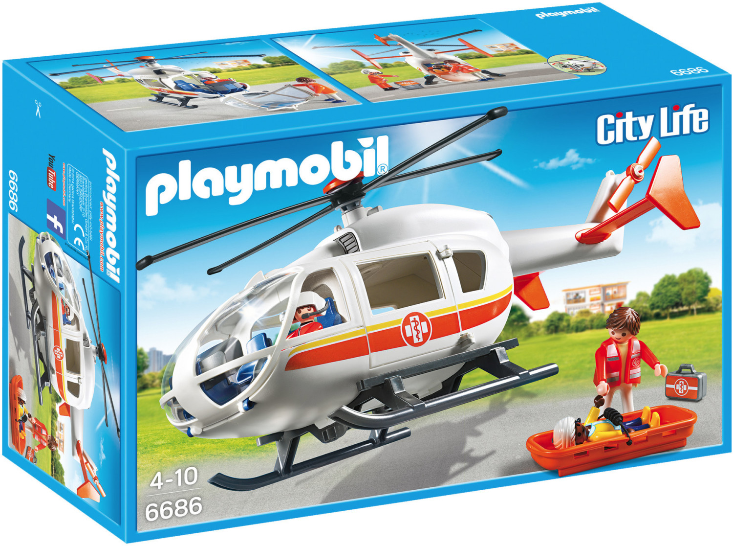 Playmobil City Life - Rettungshelikopter (6686)
