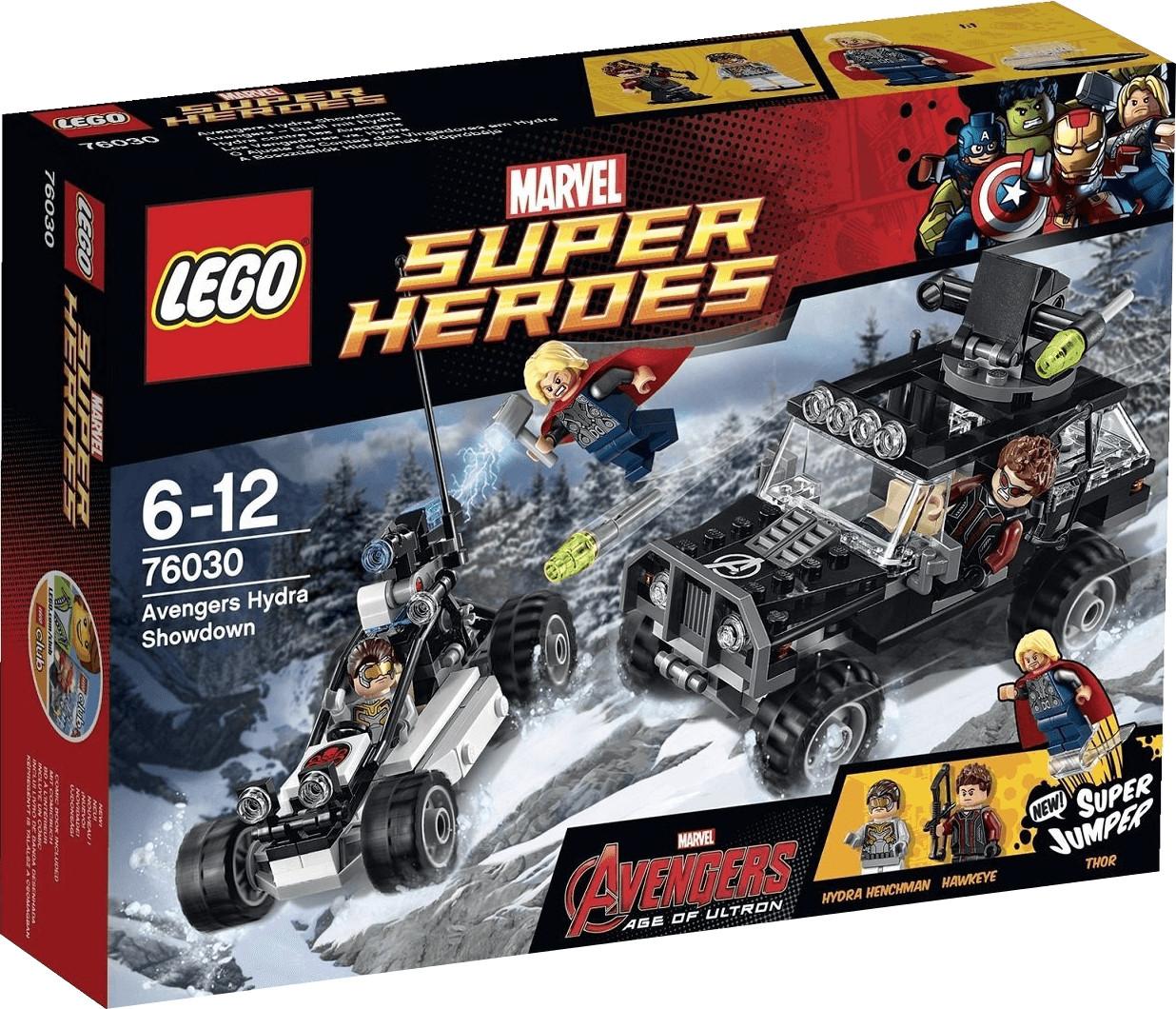LEGO Marvel Super Heroes - Hydra contre les Avengers (76030)