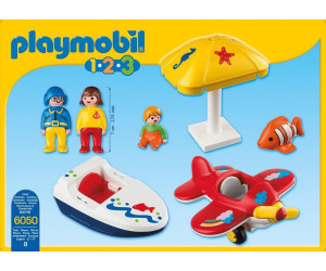 Playmobil 1.2.3 Fun In The Sun (6050)