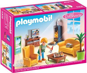 Playmobil Wohnzimmer mit Kaminofen (5308) ab 10,97 ...