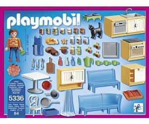 playmobil cuisine avec coin repas 5336 au meilleur prix sur. Black Bedroom Furniture Sets. Home Design Ideas